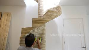homemade modern ep99 diy cnc spiral staircase outdoor wooden