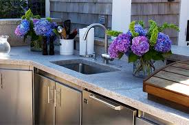outdoor kitchen sinks and faucets outdoor sink guide sinks for your outdoor kitchen houselogic