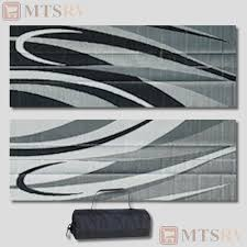 Rv Awning Mats 8 X 20 by Patio Mat Rv Camping Outdoor Floral Mat 6x9 Burg Fb5 Ebay Rv