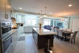 malvern two story addition u2013 kitchen family room deck mcgonigle