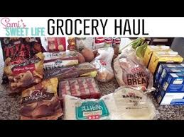 sick day thanksgiving grocery haul meal plan heb