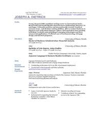 resume templates for college students download high