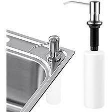 black soap dispenser kitchen sink kitchen sink soap dispenser sumnacon stainless steel countertop