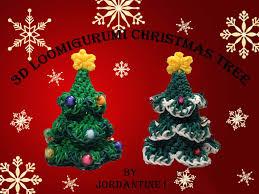 new loomigurumi amigurumi evergreen christmas tree rainbow