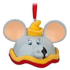 your wdw store disney ears ornament dumbo limited edition