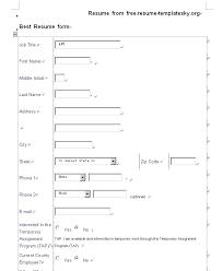 resume format blank resume template blank resume template pdf free career resume template
