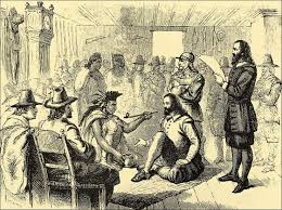 peace between the wanoag indians and the pilgrims american
