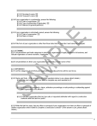 Aia A305 Template a305 contractor s qualification statement cms