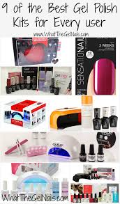 of the best gel polish kits for every user