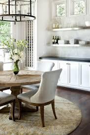 light wood round dining table stylish vintage rustic kitchen stylish vintage rustic kitchen with