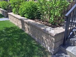 modern looking retaining wall blocks cornerstone wall solutions