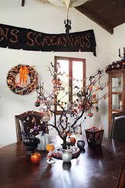 Decorated Halloween Trees 148 Best Halloween Trees Images On Pinterest Halloween Trees