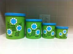 lime green kitchen canisters vintage 1940 s canister set canister sets