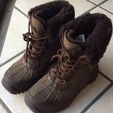 ugg s adirondack ii waterproof boot 32 ugg shoes ugg adirondack ii stout brown original 7