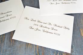how to address wedding invitation envelopes paper u0026 lace
