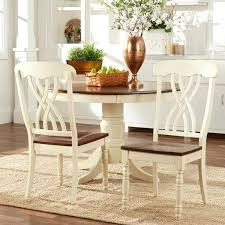 Two Tone Pedestal Dining Table Kentucky 2 Tone Extendable Dining Table And 4 Chairs Two Furniture