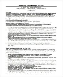 Examples Of Marketing Resumes by Marketing Resume Examples 47 Free Word Pdf Documents Download