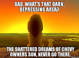 Son And Dad Meme - the 25 funniest chevy memes you can t help but laugh at