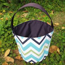 wholesale easter buckets wholesale blanks multi colored chevron easter easter tote