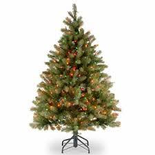 douglas fir christmas tree 1 2 ft feel real douglas fir christmas tree with 450 multi lights