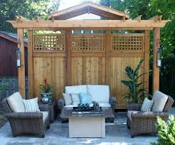 rail fx hb910120 8 privacy screen for 12 x 12 pergola us with