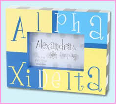 sorority picture frames alpha xi delta accessories something