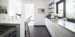 what is the best lighting for a galley kitchen 17 galley kitchen design ideas layout and remodel tips for
