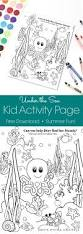 under the sea kid activity page home made interest