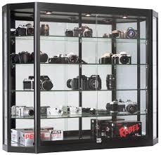 Merchandise Display Case Wall Mount Display Cases Professional Hanging Glass Cabinets