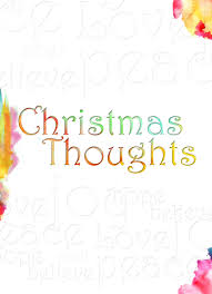 christmas thoughts u2013 heaven sent greeting cards