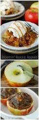bloomin u0027 baked apples recipe the gunny sack