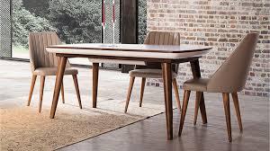 yemek masasi prada ahşap yemek odası takımı berke mobilya