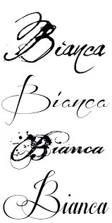 6 best images of cursive font generator cursive tattoo fonts