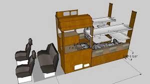 sprinter van conversion floor plans ford transit camper conversion van 5x5 youtube