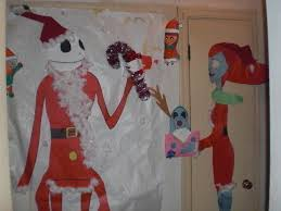 nightmare before door decoration wall decor