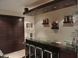 beautiful black white wood glass modern design home bar ideas