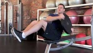 Workout Weight Bench Abs Exercises Using A Bench