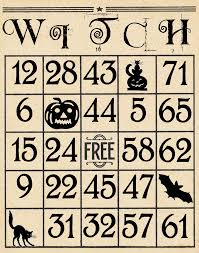 Free Halloween Bingo Cards Printable Artistic Hen Free Halloween Bingo Cards To Download Part 3