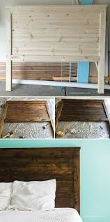Distressed Wood Headboard by How To Distress New Wood Like Joanna Gaines Shabby Chic Style