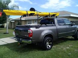 toyota tundra rack a heavy duty truck bed cover and kayak rack on a toyota tu flickr
