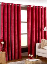 Modern Living Room Curtains by Glamorous Red Curtains For Living Room Ideas U2013 Red And Black