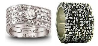 wedding quotes engraving 15 most unique engravings on wedding rings