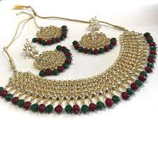 indian necklace set images Royal indian traditional style kundan necklace set sarang jpeg