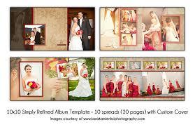 10x10 wedding album psd wedding album template simply refined 12x2 10 spread