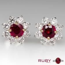 most beautiful earrings beautiful ruby earrings ruby medium