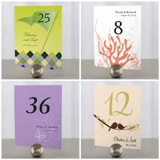 Wedding Table Number Ideas Demeeka U0027s Blog When You Begin Your Wedding Planning One Of The