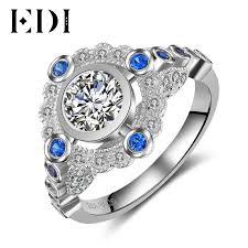 Diamond Sapphire Wedding Ring by Diamond Sapphire Ring Promotion Shop For Promotional Diamond