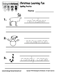ideas of christmas reading worksheets for kindergarten for your