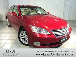 lexus toronto used cars 2012 lexus es 350 red youtube