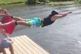 Challenge Water Fail Wakeboarders Spectacularly Fail The Boarder Throw